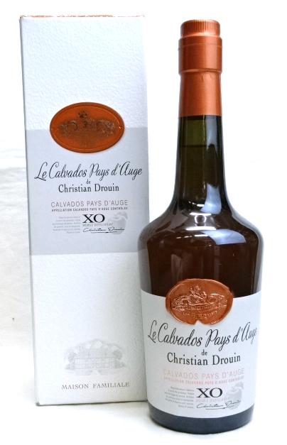 クリスチャン ドルーアン XO カルヴァドス ペイ ドージュ 700ml Calvados Drouin Christian Pays X.O. 誕生日プレゼント d'Auge 日本産 40度