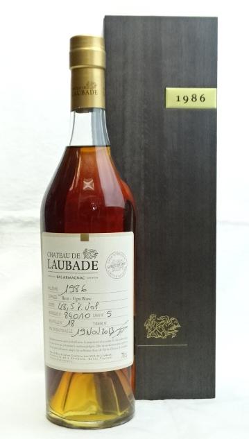 シャトー ロバード 1986 700ml 40度 Chateau アルマニャック de ブランデー SALE ■並行品 至上 Laubade