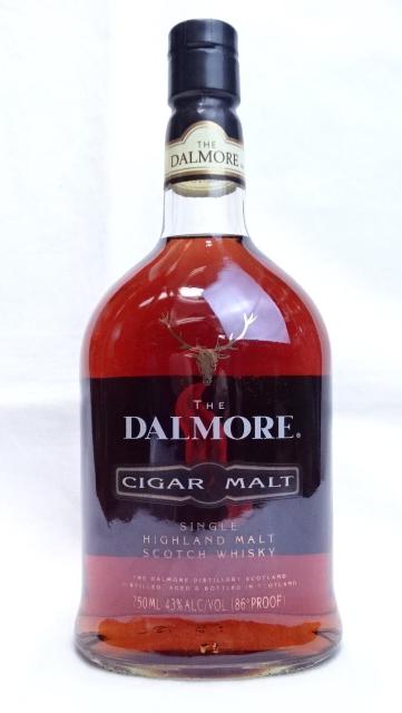 希少 旧ボトル ダルモア 再再販 シガーモルト 750ml 43度 DALMORE CIGAR MALT HIGHLAND WHISKY SCOTCH スコッチウイスキー ハイランド 新商品 SINGLE