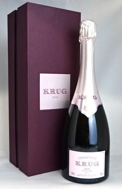 ■正規品■ クリュッグ ロゼ NV 750ml 箱付 / Krug Rose シャンパーニュ ピンク