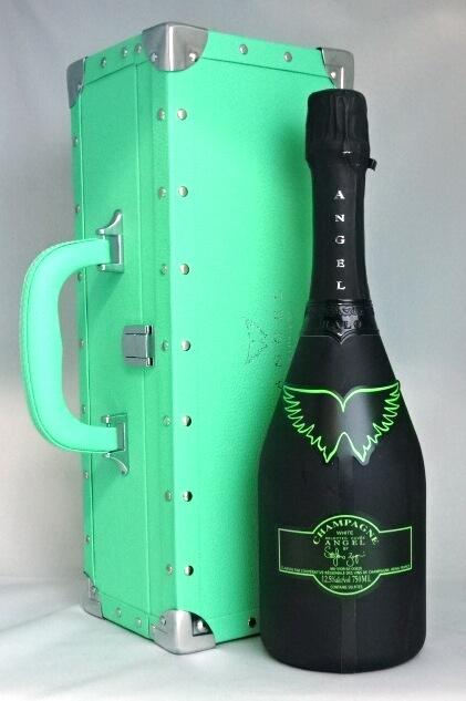 ■正規品■ エンジェル ヘイロー グリーン 750ml 12.5度 豪華専用箱付 AngelChampagne NN Brut Halo Green シャンパン 【中古】
