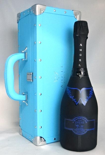 ■正規品■ エンジェル ヘイロー ブルー 750ml 12.5度 豪華専用箱付 AngelChampagne NN Brut Halo Blue シャンパン 【中古】