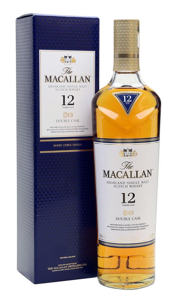 ■正規品■ ザ マッカラン ダブルカスク 12年 700ml 40度 12 スコッチウイスキー DOUBLE 卓抜 MACALLAN CASK YEARS 箱付き 新作からSALEアイテム等お得な商品 満載