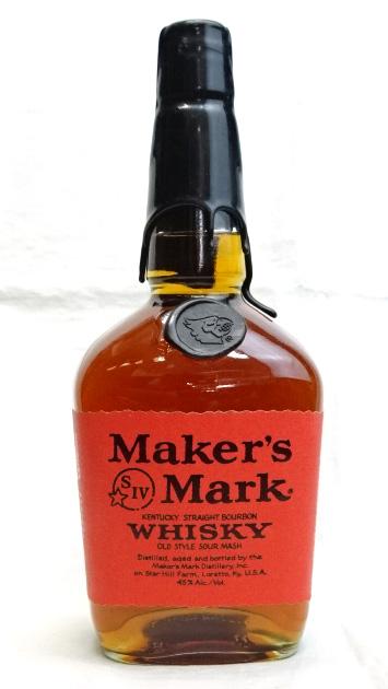 ■終売品■ メーカーズマーク 1998 ルイビル大学創立200周年記念ボトル 1000ml 45度 MARK 引き出物 海外輸入 バーボンウイスキー ブラックトップ MAKER'S レッドラベル