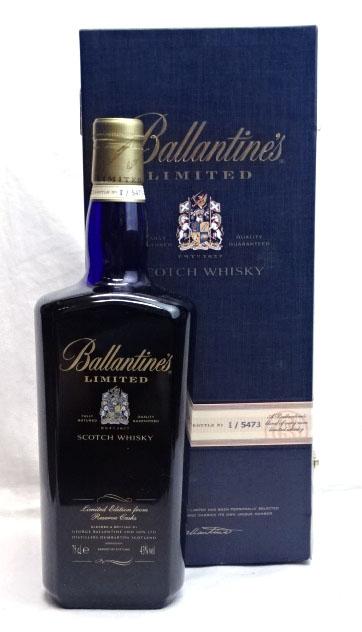 バランタイン リミテッド 激安セール 750ml 43度 箱付 I5473 中古 Scotch Whisky スコッチウイスキー Limited Ballantine's 購入