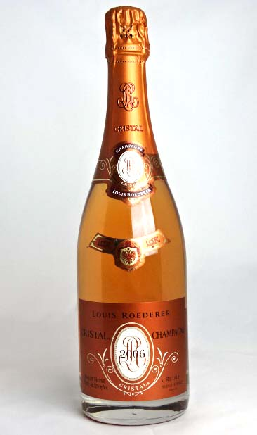【正規品】 ルイ・ロデレール クリスタル・ロゼ 2006 750ml Louis Roederer Cristal Rose 箱無し シャンパン A00722