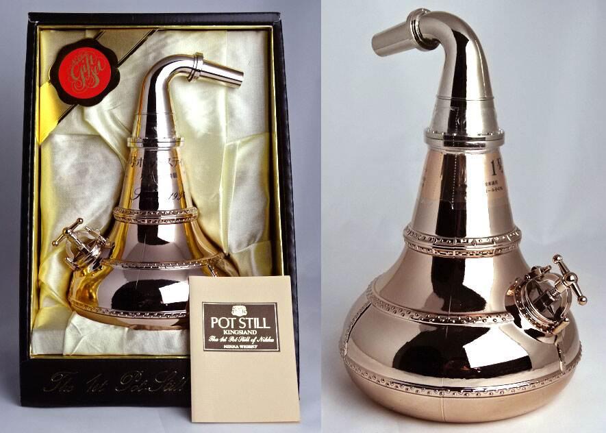 Nikka whiskey POT STILL superior 700 ml 43 ° box with pot stills NIKKA Japanese Whisky A00814