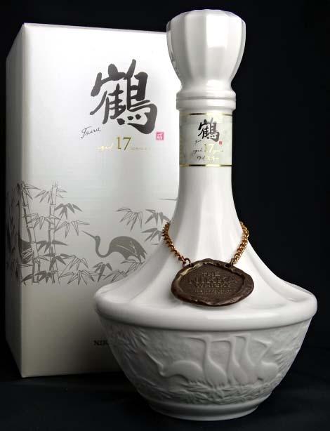Nikka crane 17-year pottery bottle 700 ml 43 ° box with whiskey NIKKA Japanese Whisky A01192