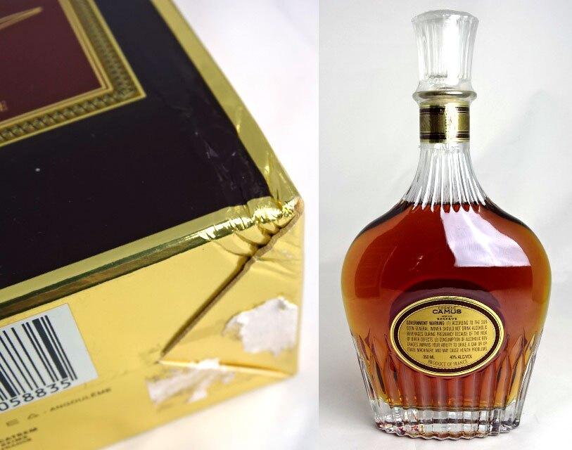 有加缪SPECIAL RESERVE 350ml 43度箱子的小型照相机白兰地·白兰地酒CAMUS A01266