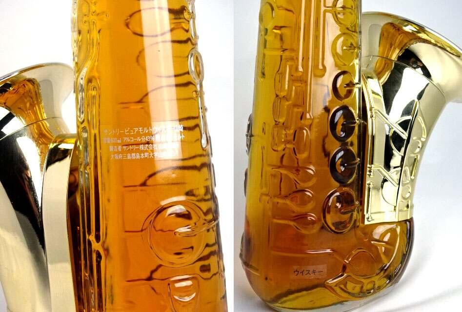 Rare Suntory purmort whisky Yamazaki SAX-bottle 600 ml 43 ° SUNTORY WHISKY YAMAZAKI A01434