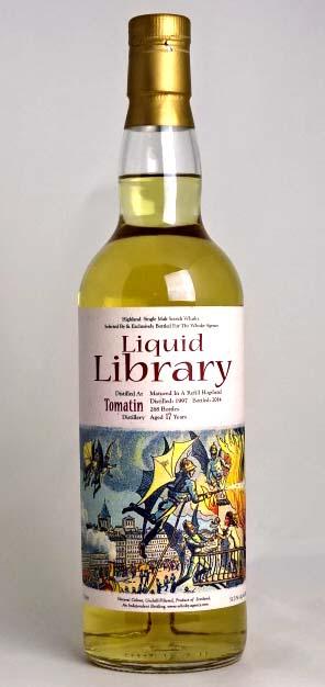 トマーティン 17年 1997-2014 リフィルホグスヘッド リキッドライブラリー(スリーリバース) 700ml 51度 Tomatin Aged 17 Years 1997/2014 Refill Hogshead Liquid Library A02040