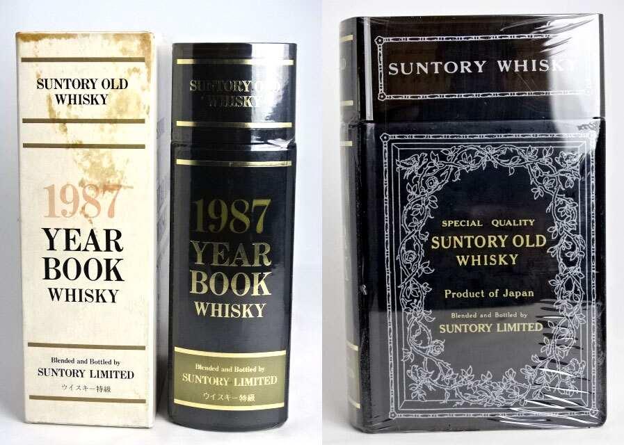 三得利与关键书旧瓶 1987 年书威士忌 [三得利有限成立 1899 年,660 毫升 43 ° 框与三得利 A02160