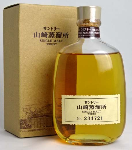 Suntory Yamazaki distillery single malt whisky 300 ml 40 degrees SUNTORY Japanese Whisky A02174