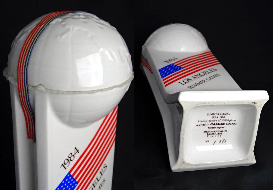 加繆拿破崙 1984年洛杉磯奧運會陶瓶 750 毫升 43 ° 加繆拿破崙幹邑洛杉磯夏季奧運會 A02533