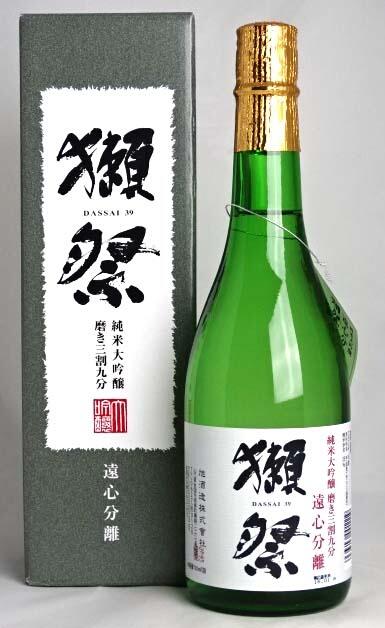 树獭节(俗气)純米大吟醸遠心分離磨来,有3成十之分九箱子的720ml旭造酒株式会社日本清酒A02908