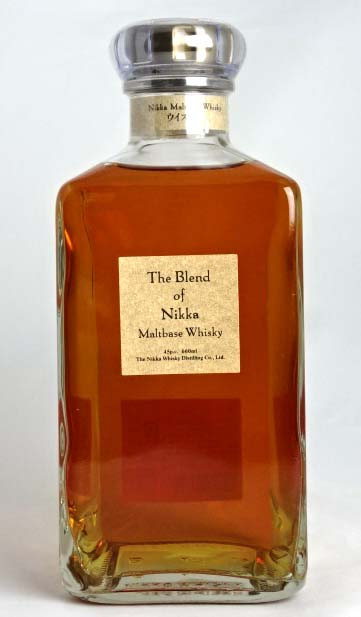 The blend of Nikka 660 ml 43 times The Blend of NIA Maltbase Whisky A03311