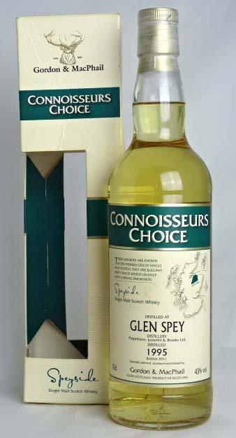 ■終売品■ グレンスペイ 16年 1995-2011 コニサーズチョイス ゴードン&マクファイル 700ml 43度 GLEN SPEY CONNOISSEURS CHOICE Gordon&MacPhail; Single Malt Scotch Whisky A03516