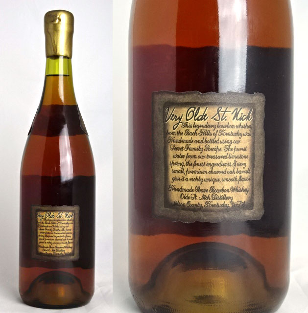 Very old Saint Nick ancient cask 12 750ml 45-degree Very Old St.Nick ANCIENT CASK 12 Bourbon Whisky Bourbon whiskey A04075