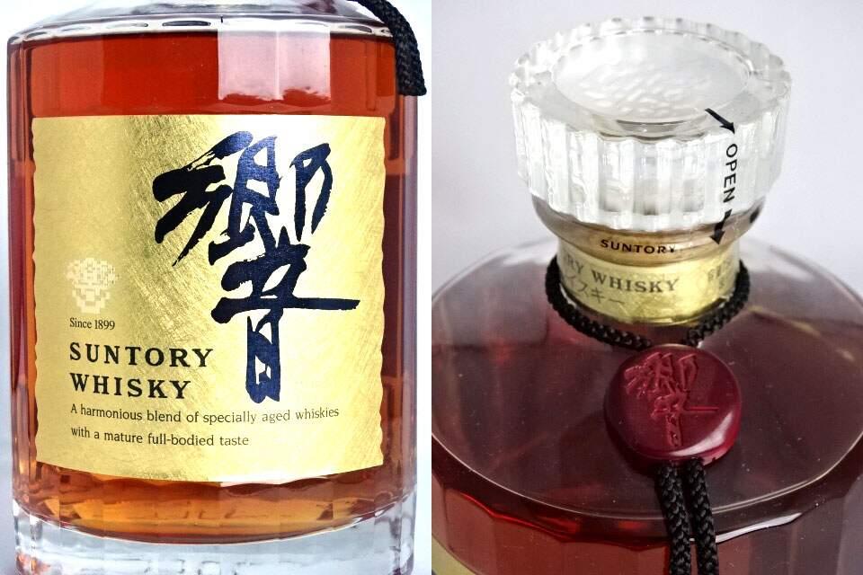 三得利科诺金标 700 毫升 43 ° 威士忌三得利科诺日本威士忌 A05051