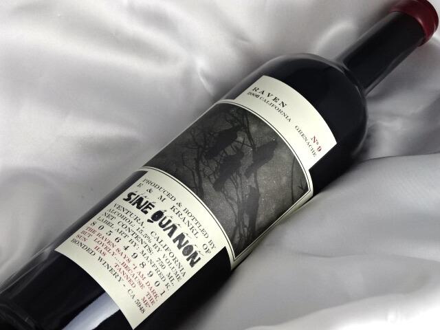 シネ・クア・ノン(シン・クア・ノン) レイヴン グルナッシュ No.9 [2006] 750ml SINE QUA NON Raven No.9 Garnacha アメリカ/カリフォルニア 赤ワイン A05123