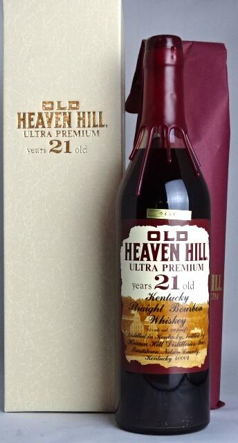 ■有750ml 45度箱子終売品■老天堂山超高级21年的OLD HEAVENHILL ULTRA PREMIUM years 21 old波旁威士忌A05871