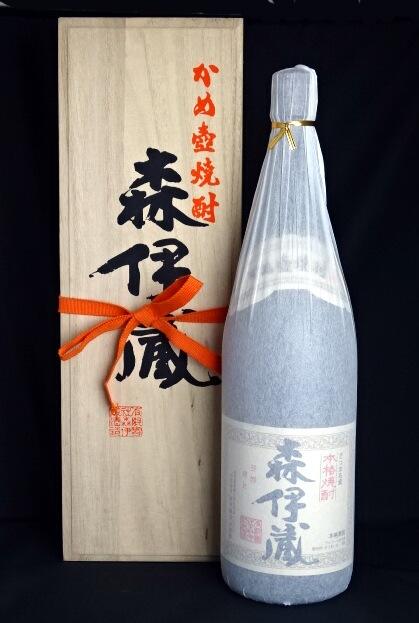 東京都在住限定 キャンペーンもお見逃しなく 森伊蔵 木箱付き 有限会社森伊蔵酒造 期間限定特価品 芋焼酎 1800ml