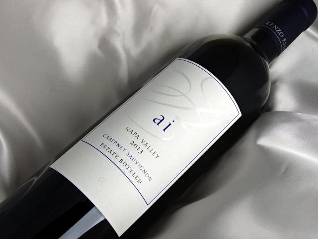 KENZO ESTATE ai【藍 あい】2013年 ケンゾー エステイト カリフォルニア ナパ・ヴァレー 赤ワイン 750ml A06957