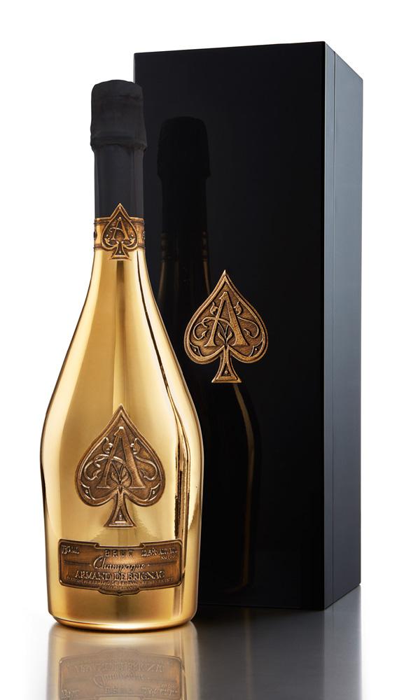 アルマン・ド・ブリニャック ブリュット ゴールド 750ml 専用箱付き Armand de Brignac Champagne Brut 並行品