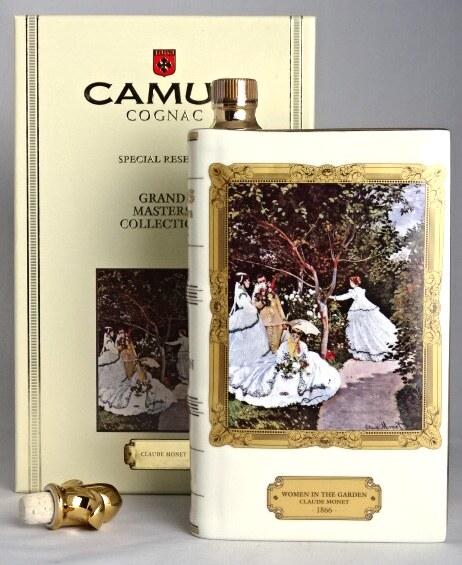 カミュ ブック スペシャルリザーヴ 「ウーマン イン ザ ガーデン(庭の女たち)」 モネ 700ml 40度 CAMUS COGNAC SPECIAL RESERVE GRAND MASTERS COLLECTION A08188