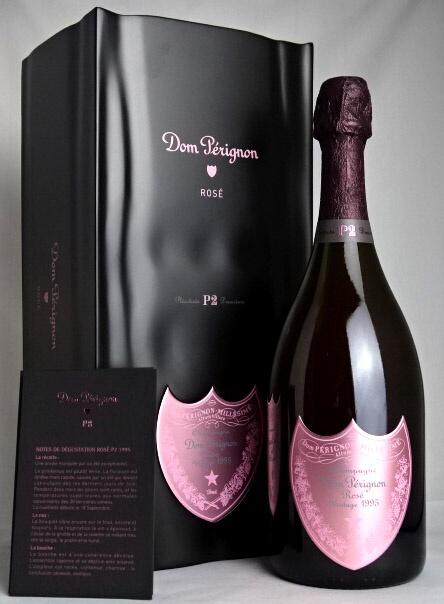ドン・ペリニヨン P2 ロゼ [1995] 豪華専用BOX 冊子付属 【自社並行輸入】 Dom Perignon P2 Rose ドンペリ
