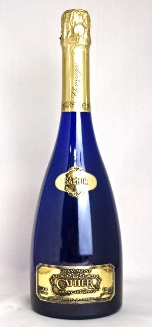 ■正規品■ キャティア・ブリュット サファイア ゴールドラベル 750ml 12.5度 Cattier Brut Saphir Gold Label /シャンパン アルマン・ド・ブリニャック A10348