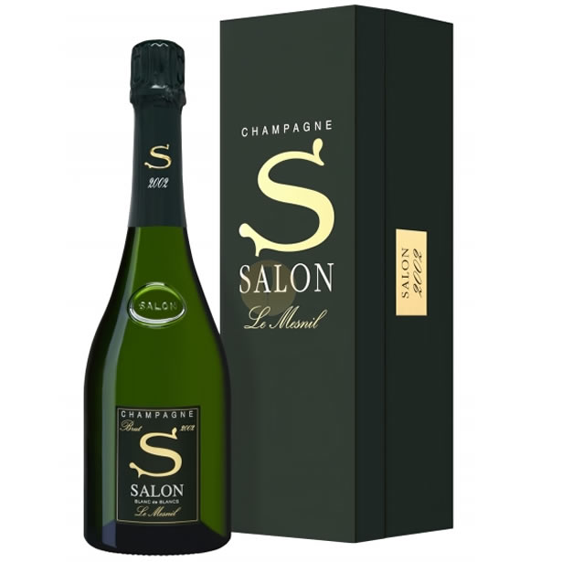 Parallel salon Champagne white with the salon buran de branle メニル [2002]  750 ml Salon BLANC DE BLANCS (Le Mesnil) Brut box