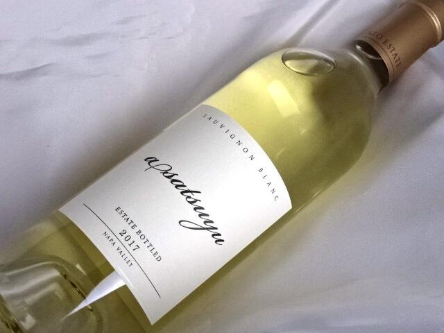 KENZO ESTATE asatsuyu【あさつゆ】2017年 ケンゾー エステイト カリフォルニア ナパ・ヴァレー 白ワイン 750ml ソーヴィニヨン・ブラン