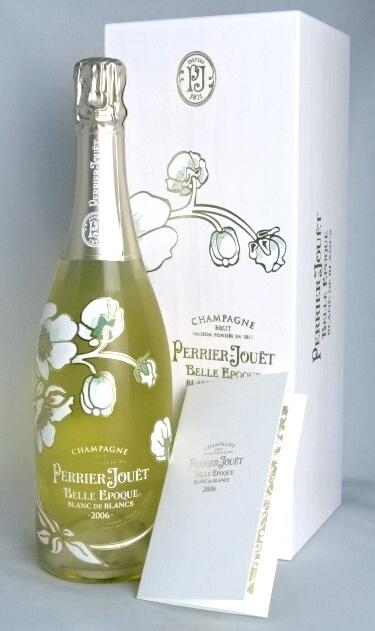 ■正規品■ ペリエ・ジュエ ベル・エポック ブラン・ド・ブラン 2006 750ml 12.5度 専用箱付属 シャンパーニュ 白 Perrier Jouet Belle Epoque BLANC DE BLANCS A10980
