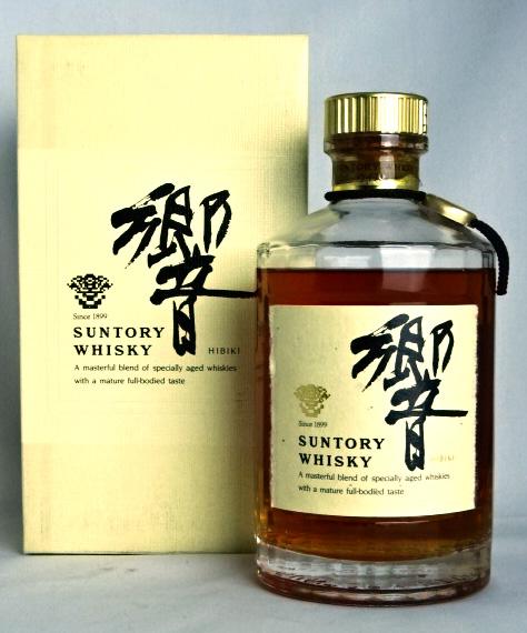 【東京都在住限定】 サントリー 響 金キャップ 裏ゴールドラベル 年数表記無し 700ml 43度 箱付 ウイスキー SUNTORY HIBIKI JAPANESE WHISKY 【中古】
