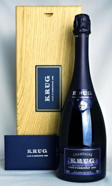クリュッグ クロ・ダンボネ [2000] 750ml 12.5度 木箱・冊子付属 Krug Clos D'ambonnay 並行品 シャンパン/フランス