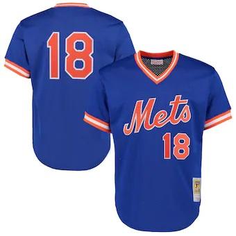 野球専門店Rally Cap MLB ニューヨーク メッツ ダリル ストロベリー クーパーズタウン Mitchell ネス Ness 人気海外一番 ミッチェル 初売り ユニフォーム ジャージ