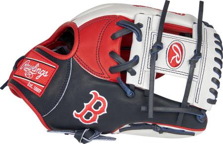野球専門店Rally Cap 日本未発売 USA Rawlings ローリングス 硬式用グローブ The 2021 Boston Red Sox 本日の目玉 of ボストン Hide ■MLBチームシリーズ 11.5インチ the レッドソックス 数量は多 Heart RSGPRONP4-2BOS NP型 内野手用