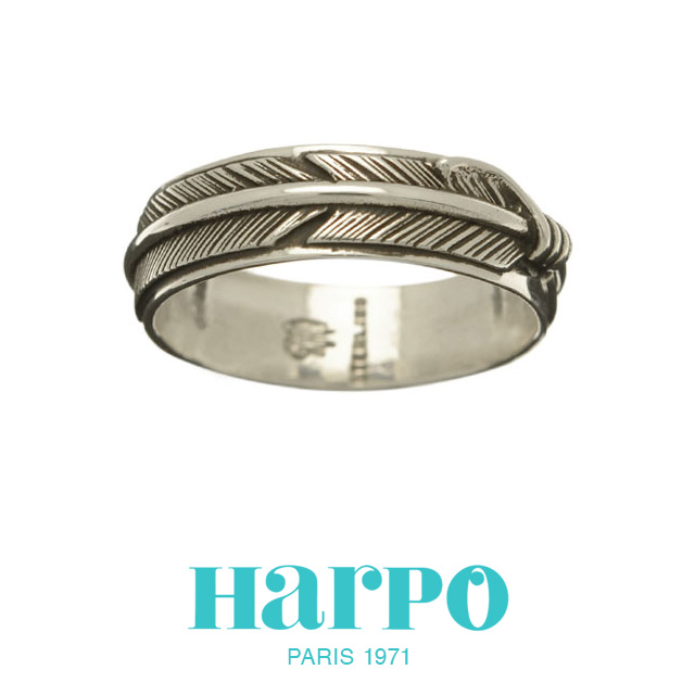 HARPO アルポ ハルポ NAVAJO FEATHER RING BAW49 ナバホ フェザー リング 指輪 シルバー 羽根 カジュアル レディース