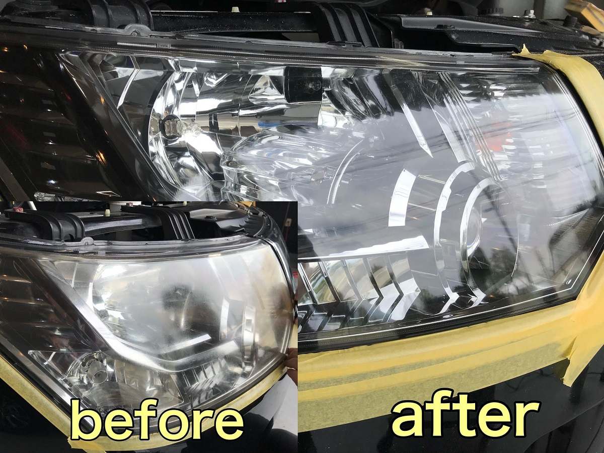 "A new technology of the headlight repair which became the topic by the name of ""the headlight steamer"" in an instant."