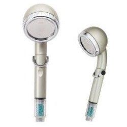 洗浄力 オムコ東日本 宝石シャワー マイナスイオン Premium 節水シャワー シャワーヘッド