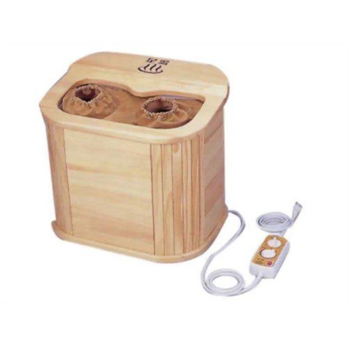 【足湯 フットバス】 ぽかぽか足湯DX AY-2022 脚温器 お湯なしで使える足温器