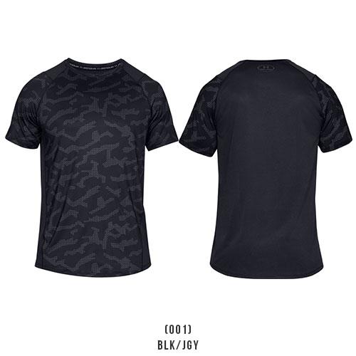 アンダーアーマー メンズ Tシャツ インナー フィッティド グラフィックTシャツ 1327249 ヒートギア(夏用) UNDER ARMOUR MK-1 Tシャツ<プリント>