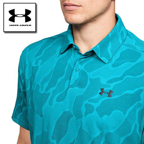 アンダーアーマー ポロシャツ メンズ ゴルフ クールビズ ジャガード 1350217 UNDER ARMOUR バニッシュポロシャツ<ジャガード>