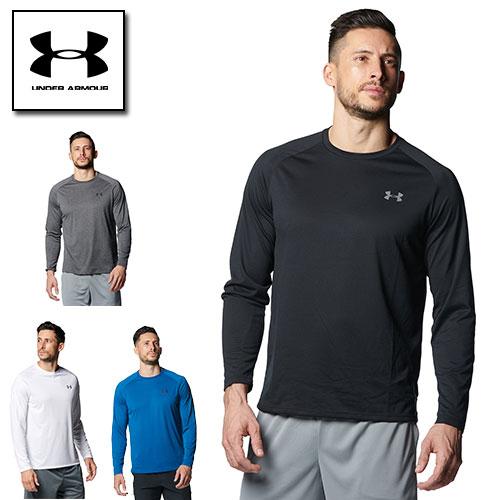 キャンペーンもお見逃しなく 2021SS新商品 メーカー直送 アンダーアーマー メンズ Tシャツ 長袖 ロングTシャツ 3XL展開 テック 夏用 UNDER 1358562 ヒートギア ARMOUR