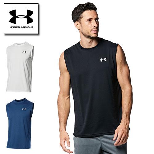 2021SS新商品 アンダーアーマー Tシャツ 価格 タンクトップ メンズ ヒートギア 価格交渉OK送料無料 ARMOUR ノースリーブ テックTシャツ UNDER 1367452 夏用