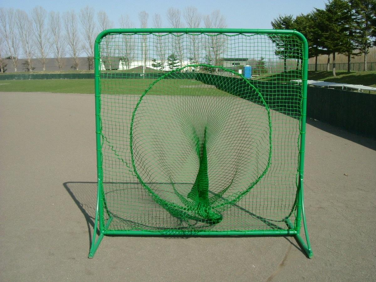 野球 ティーネット トスバッティングネット 組立式 防球ネット 防護ネット ノック バッティングネット