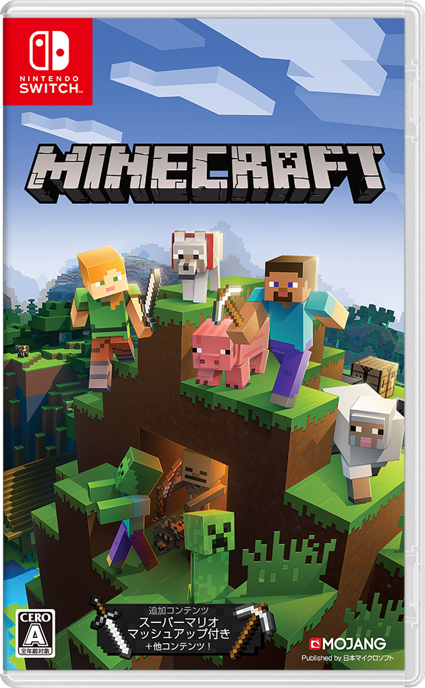 携帯決済対応 クレジットOK 3980円以上送料無料 即納 新品 超激得SALE Minecraft NSW 2018年06月21日発売 送料無料