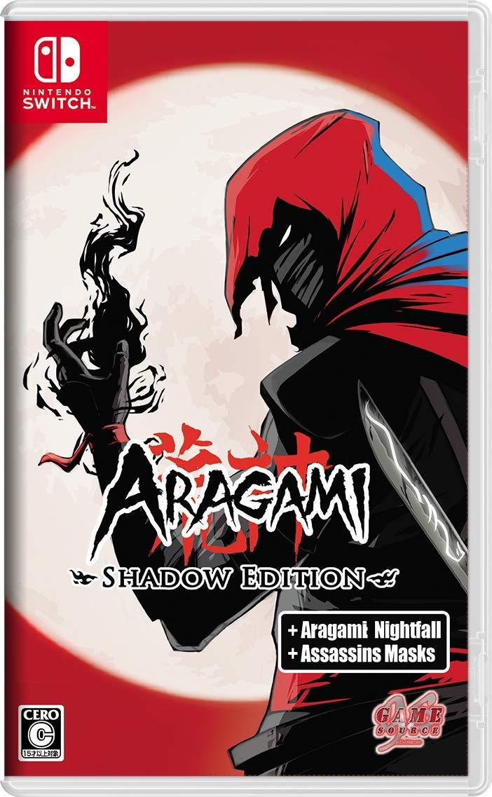 携帯決済対応 並行輸入品 カードOK 3980円以上送料無料 即納 新品 2019年8月1日発売 NSW 海外輸入 Aragami:Shadow Edition