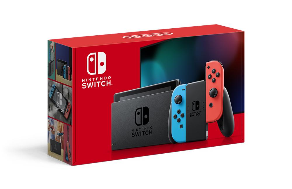 【即納★新品】NSW 新型 Nintendo Switch Joy-Con(L) ネオンブルー/(R) ネオンレッド(本体)【2019年08月30日発売】